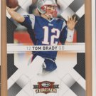 2009 Donruss Threads Tom Brady Patriots