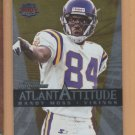 1999 Dominion Atlanta Attitude Randy Moss Vikings