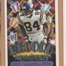 1999 Topps Record Numbers Randy Moss Vikings