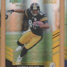2007 Score Select Gold Zone Cedrick Wilson Steelers /50