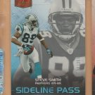 2006 Flair Showcase Sideline Pass Steve Smith Panthers /999