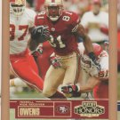 2003 Playoff Honors X's Gold Terrell Owens 49ers /250