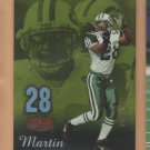 2006 Flair Showcase Gold Curtis Martin Jets /99