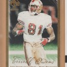 2000 Pacific Private Stock Gold Terrell Owens 49ers /181