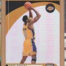 2000-01 Stadium Club Striking Distance Kobe Bryant Lakers
