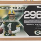 2008 Topps Flight to 420 #296 Brett Favre Packers