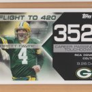 2008 Topps Flight to 420 #352 Brett Favre Packers