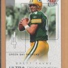 2004 Fleer Ultra Performers Brett Favre Packers