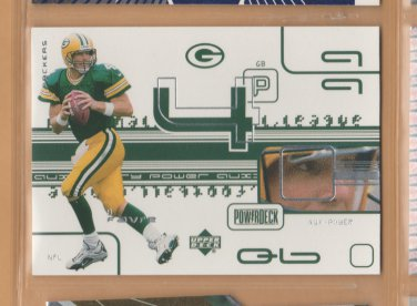 1999 Upper Deck PowerDeck Auxiliary Brett Favre Packers