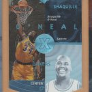1997-98 Upper Deck SPx Blue Shaquille 0'Neal Lakers