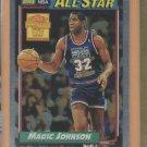 2000-01 Topps Chrome Reprints Magic Johnson #7 Lakers
