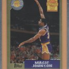 2000-01 Topps Chrome Cards That Never Were Magic Johnson #MJ5 Lakers