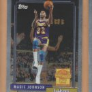 2000-01 Topps Chrome Cards That Never Were Magic Johnson #MJ10 Lakers