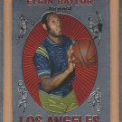 1996-97 Topps Finest Reprints Elgin Baylor Lakers