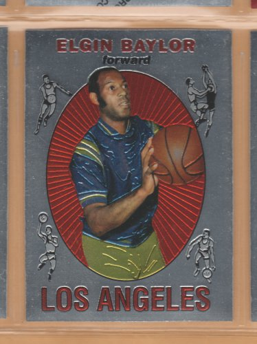 1996-97 Topps Finest Reprints Elgin Baylor Lakers