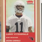 2004 Fleer Tradition Rookie Larry Fitzgerald Cardinals RC