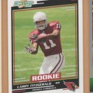 2004 Score Rookie Larry Fitzgerald Cardinals RC