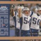 2005 Playoff Prestige Super Bowl Heroes Tedy Bruschi Patriots
