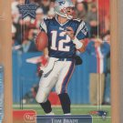 2002 Leaf Rookie & Stars Tom Brady Patriots
