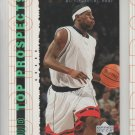 2003-04 UD Top Prospects Rookie LeBron James RC #55 Cavaliers
