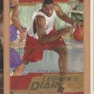 2003-04 UD LeBron's Diary Rookie LeBron James RC #LJ6 Cavaliers