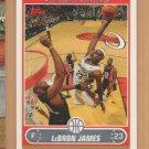 2006-07 Topps LeBron James Cavaliers