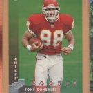 1997 Donruss Rookie Tony Gonzalez RC Chiefs Falcons
