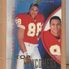 1997 Pinnacle Inside Rookie Tony Gonzalez RC Chiefs Falcons