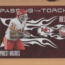 2010 Elite Passing the Torch Priest Holmes Jamaal Charles Chiefs /999