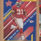 2004 Leaf Rookie & Stars True Blue Priest Holmes Chiefs /249