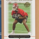 2005 Topps Rookie Derrick Johnson Chiefs RC