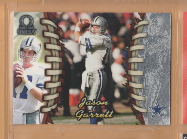 1998 Pacific Omega Jason Garrett Cowboys