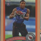 2011 Topps Chrome Orange Refractor Rookie Patrick Peterson Cardinals RC