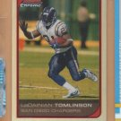 2006 Bowman Chrome Refractor LaDainian Tomlinson Chargers