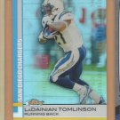2009 Topps Finest Refractor LaDainian Tomlinson Chargers