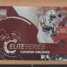 2010 Donruss Elite Series Red LaDainian Tomlinson Chargers /999