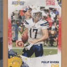 2010 Score Red Zone Philip Rivers Chargers /100