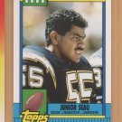 1990 Topps Traded Rookie Junior Seau RC Chargers