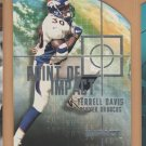 2000 Skybox Impact Point of Impact Terrell Davis Broncos