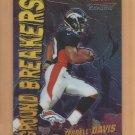 2000 Bowman Chrome Ground Breakers Terrell Davis Broncos
