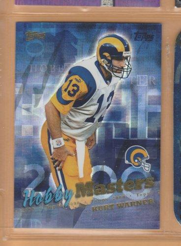 2000 Topps Hobby Masters Kurt Warner Rams