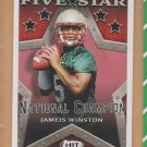 2015 Sage Hit Five Star Rookie #148 Jameis Winston Buccaneers RC