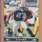 2002 Playoff Honors X's Eddie George Titans  /100