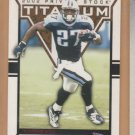2002 Private Stock Titanium Red Eddie George Titans  /275