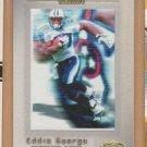 2001 Fleer Showcase Avant Card Eddie George SP Titans