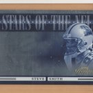 2006 Prestige Stars of the NFL Foil Steve Smith Panthers /100
