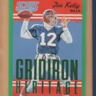 2015 Score Gridiron Heritage Green Jim Kelly Bills