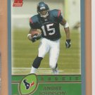 2003 Topps Rookie Andre Johnson RC Texans