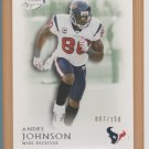 2011 Topps Legends Green Andre Johnson Texans /150
