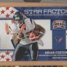 2011 Threads Star Factor Arian Foster Texans